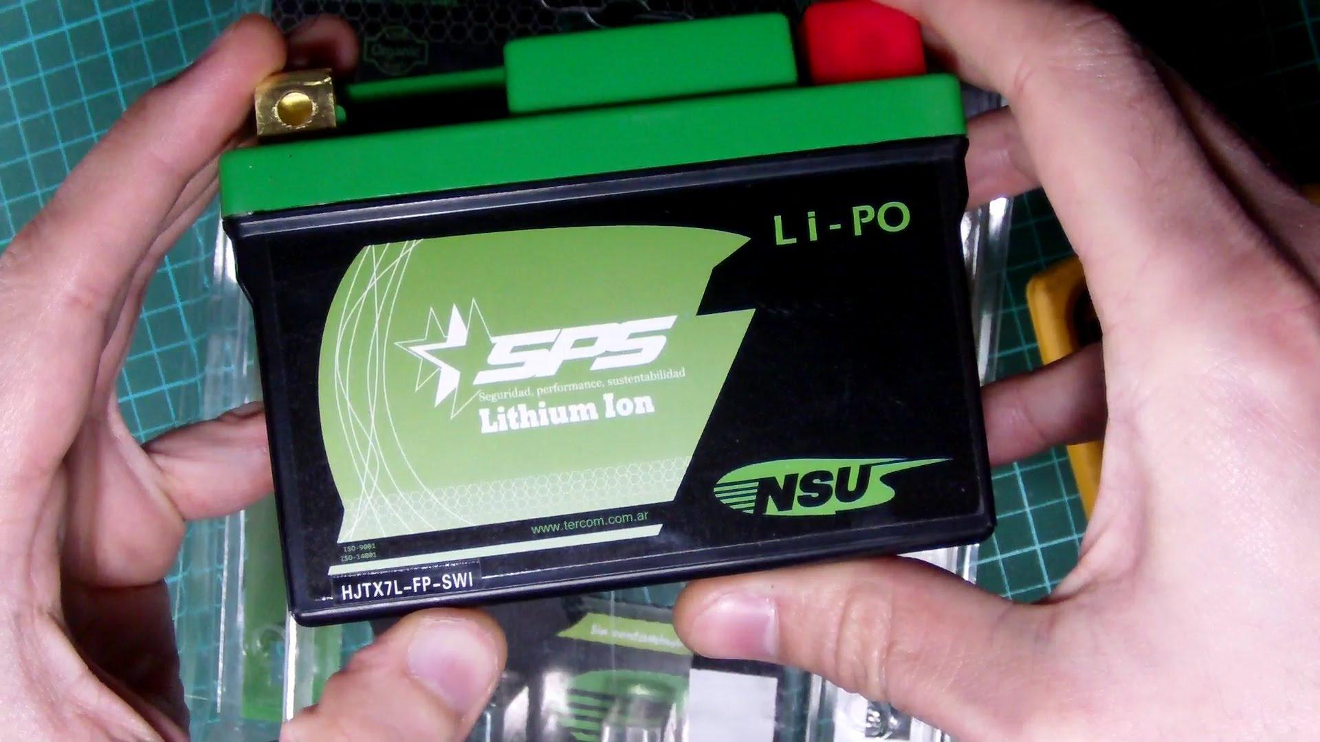 Bateria de lítio para motos